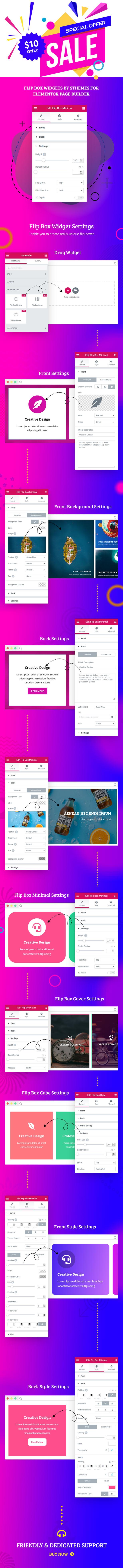Widgets de pontos de acesso de imagem por SThemes para o construtor Elementor Page